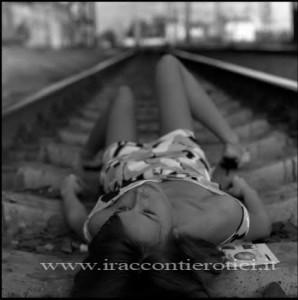 Sesso sui binari del treno